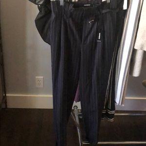 Waistpaper bag pants